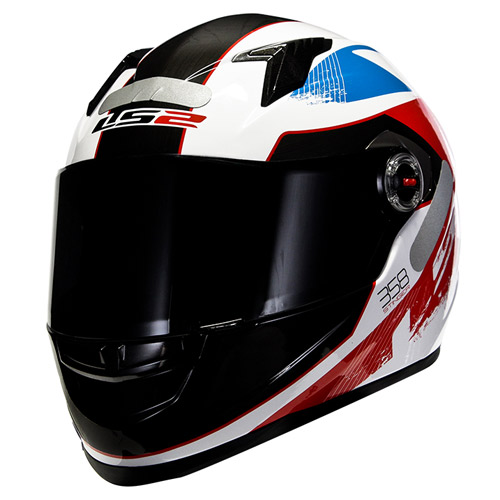 Capacete LS2 FF358 Stingers Red/Blue  - Super Bike - Loja Oficial Alpinestars