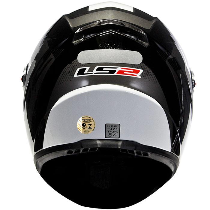 Capacete LS2 FF358 Stingers Black/Grey  - Super Bike - Loja Oficial Alpinestars
