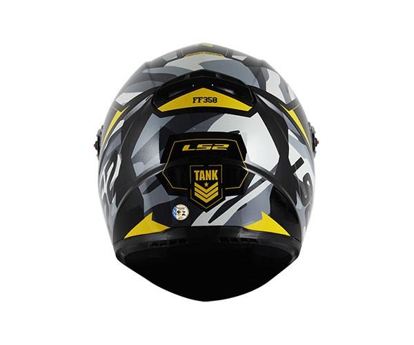 Capacete LS2 FF358 Tank (Amarelo) Lan�amento!! yellow  - Super Bike - Loja Oficial Alpinestars
