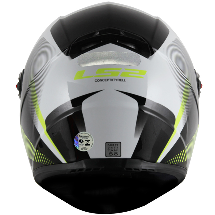 Capacete LS2 FF358 Tyrell Black Yellow  - Super Bike - Loja Oficial Alpinestars