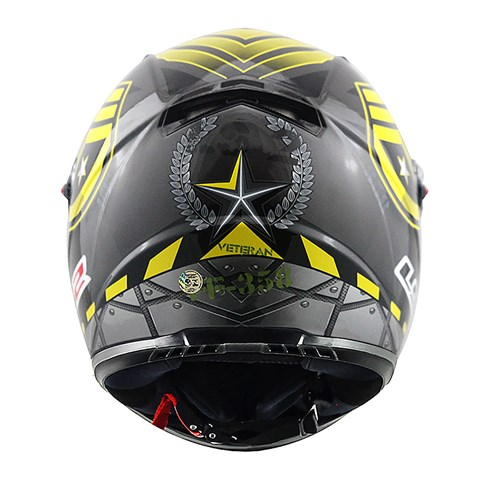Capacete LS2 ff358 Veteran Grey Yellow  - Super Bike - Loja Oficial Alpinestars