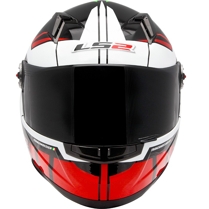 Capacete LS2 FF358 Voltage Red/Green - Super Bike - Loja Oficial Alpinestars