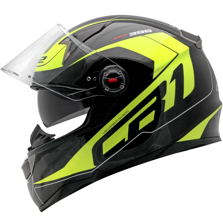Capacete LS2 FF396 CR1 Diablo Black/Yellow - Super Bike - Loja Oficial Alpinestars