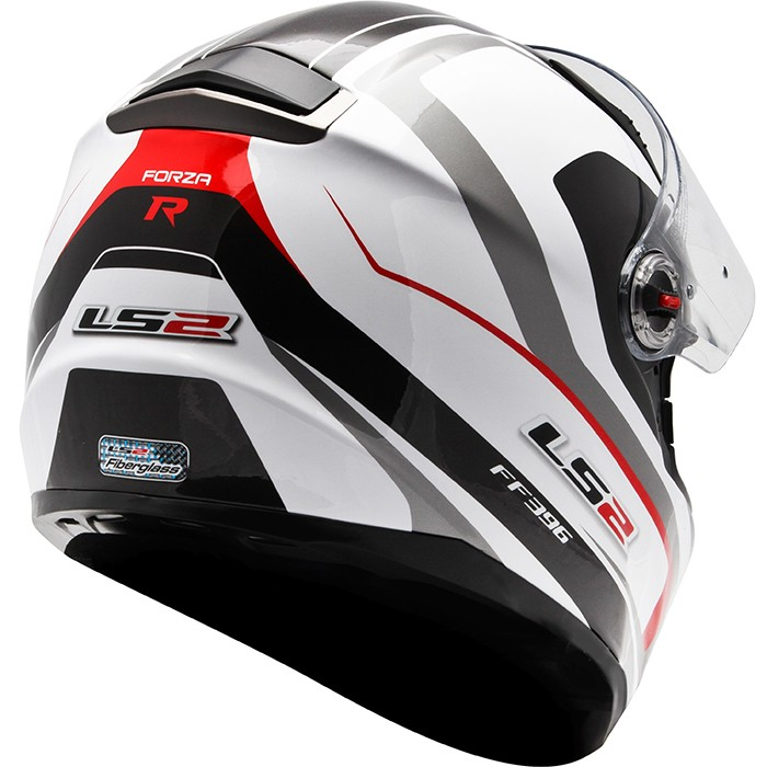 Capacete LS2 FF396 Forza Vermelho c/ óculos NOVO!  - Super Bike - Loja Oficial Alpinestars