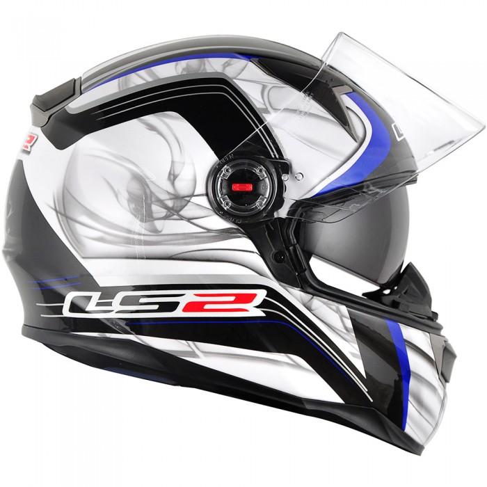 Capacete LS2 FF396 Prova Azul c/ Óculos  - Super Bike - Loja Oficial Alpinestars