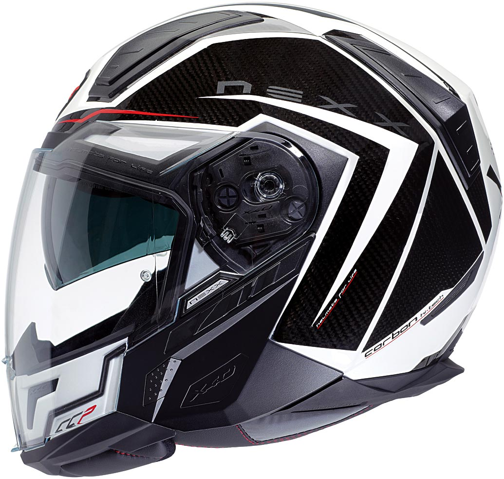Capacete Nexx X40 Hypertech Branco (100% FIBRA DE CARBONO)  - Super Bike - Loja Oficial Alpinestars