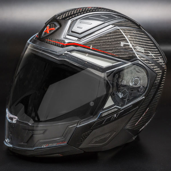 Capacete Nexx X40 Hypertech Preto (100% FIBRA DE CARBONO)  - Super Bike - Loja Oficial Alpinestars