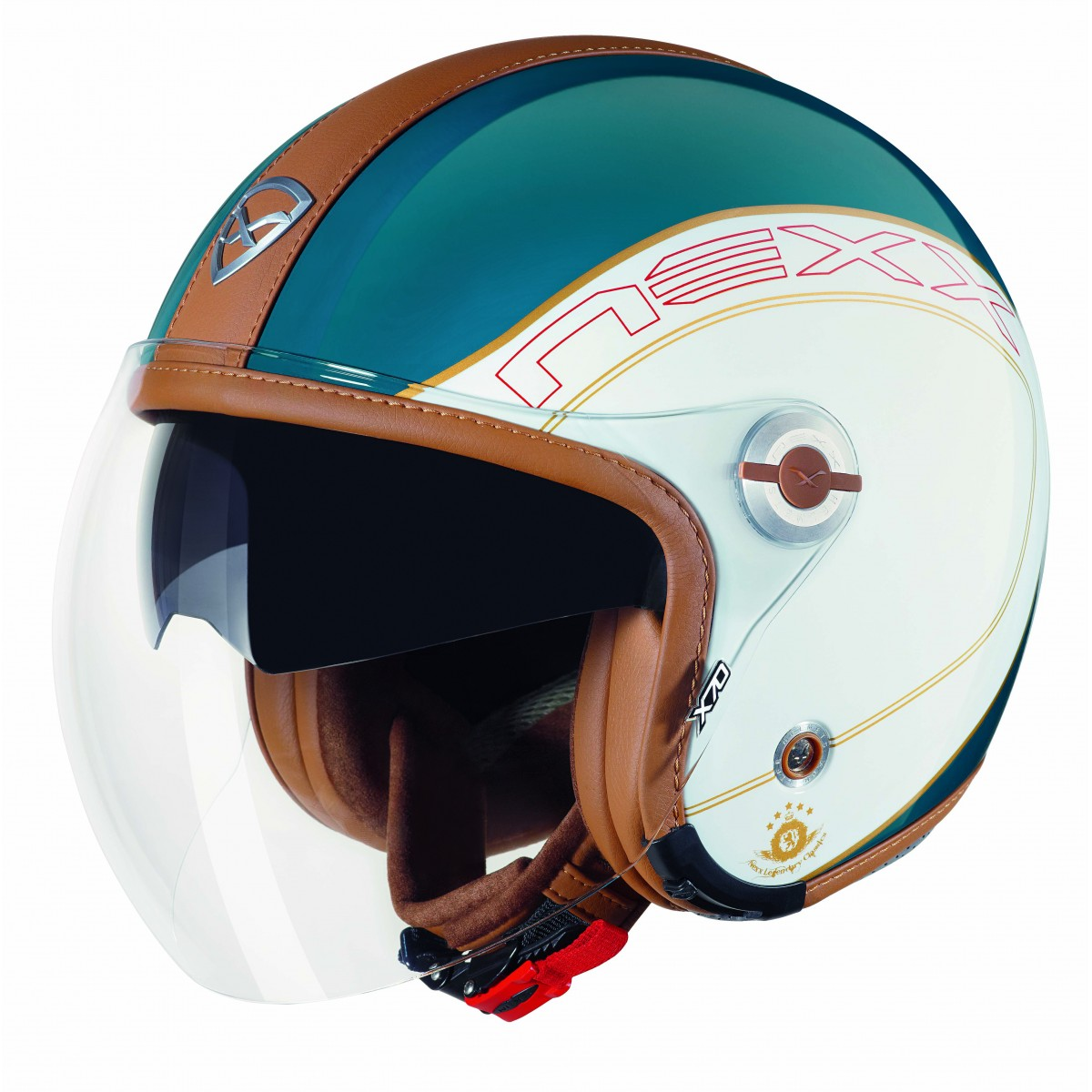 Capacete Nexx X70 Ace Azul Retrô Brilhante  - Super Bike - Loja Oficial Alpinestars