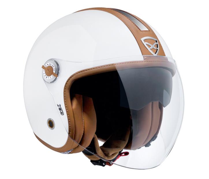 Capacete Nexx X70 Groovy Branco Camel  - Super Bike - Loja Oficial Alpinestars