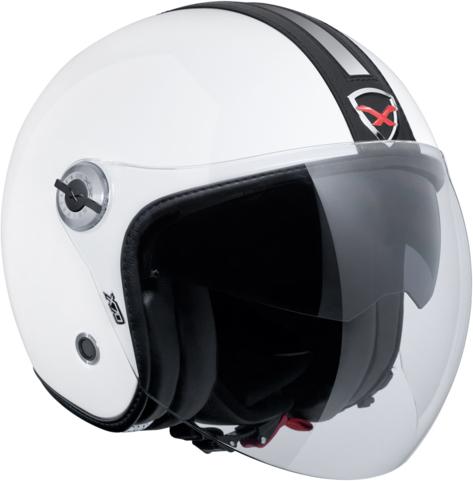Capacete Nexx X70 Groovy branco/ preto  - Super Bike - Loja Oficial Alpinestars