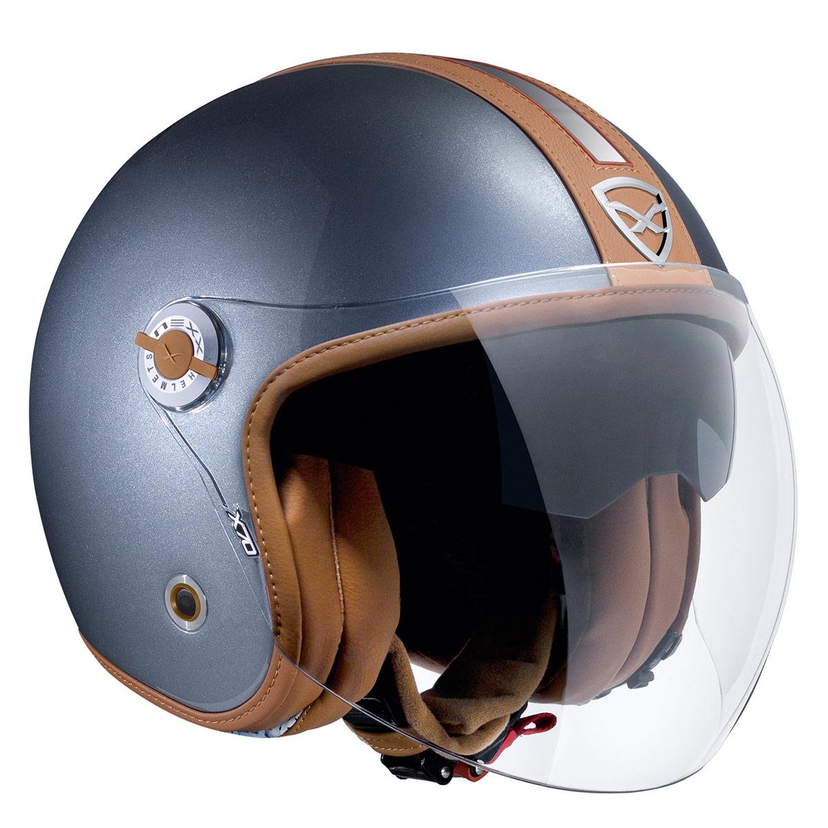 Capacete Nexx X70 Groovy Titanium Camel  - Super Bike - Loja Oficial Alpinestars