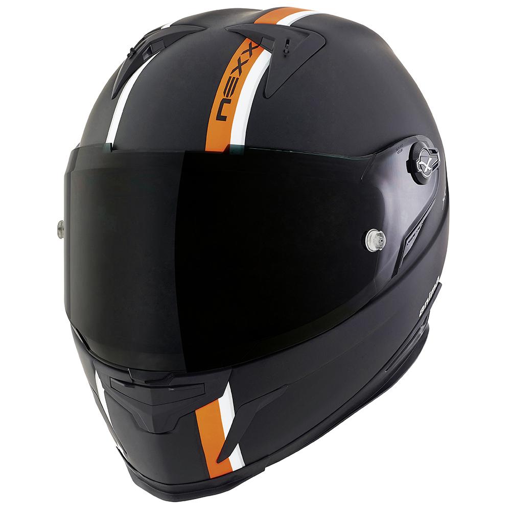 Capacete Nexx XR2 Anima Preto c/ Laranja Lançamento!  - Super Bike - Loja Oficial Alpinestars