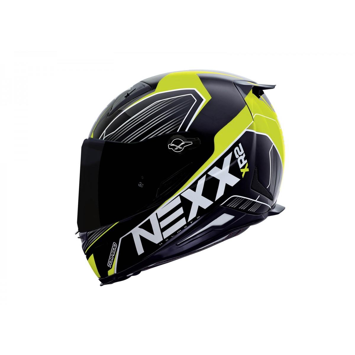 Capacete Nexx XR2 Torpedo Amarelo Neon  - Super Bike - Loja Oficial Alpinestars