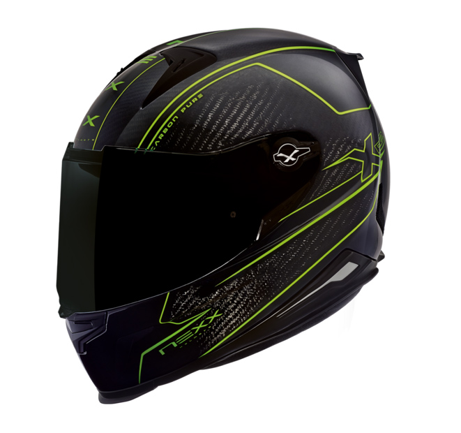 Capacete Nexx XR2 Carbon Verde Neon  - Super Bike - Loja Oficial Alpinestars