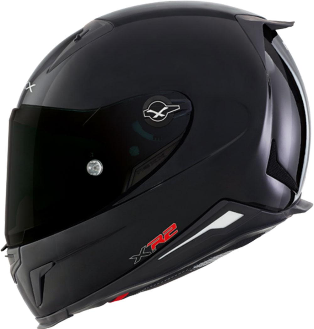 Capacete Nexx XR2 Plain Preto Brilho  - Super Bike - Loja Oficial Alpinestars
