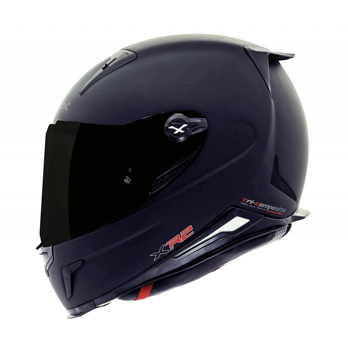 Capacete Nexx XR2 Plain - Preto Fosco  - Super Bike - Loja Oficial Alpinestars