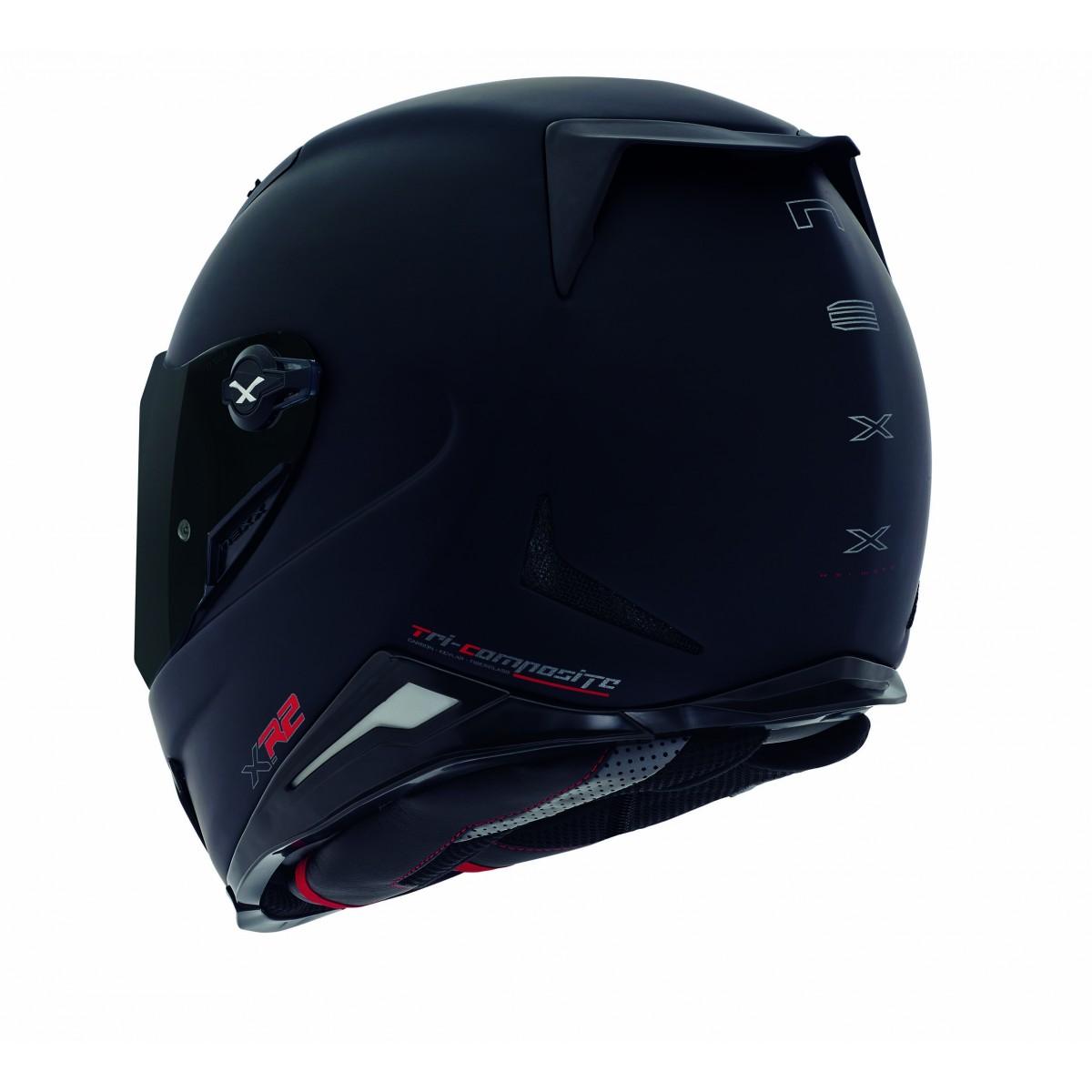 Capacete Nexx XR2 Plain Preto Fosco  - Super Bike - Loja Oficial Alpinestars