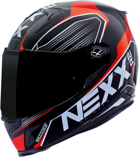 Capacete Nexx XR2 Torpedo Vermelho  - Super Bike - Loja Oficial Alpinestars