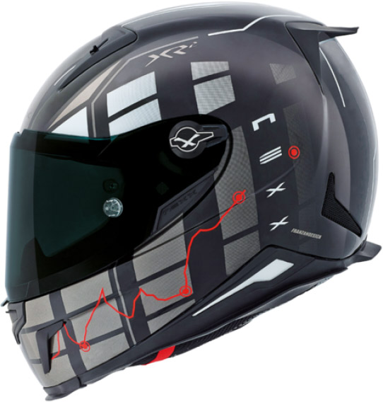Capacete Nexx XR2 Virus Red Lançamento 2016  - Super Bike - Loja Oficial Alpinestars
