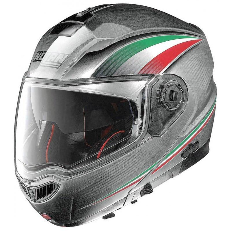 Capacete Nolan N104 Absolut Italy Prata Escamote�vel com viseira interna Lan�amento 2016!!  - Super Bike - Loja Oficial Alpinestars