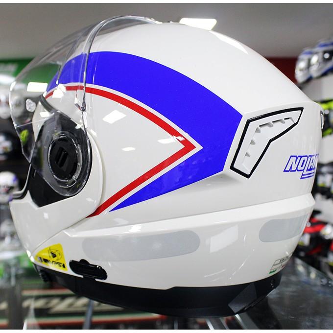 Capacete Nolan N104 Evo Scovery N-Com BLUE/WHITE Escamoteável  - Super Bike - Loja Oficial Alpinestars
