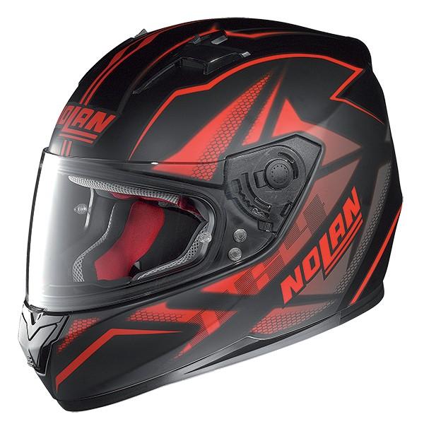 Capacete Nolan N64 Flazy Black Red Oferta!!  - Super Bike - Loja Oficial Alpinestars