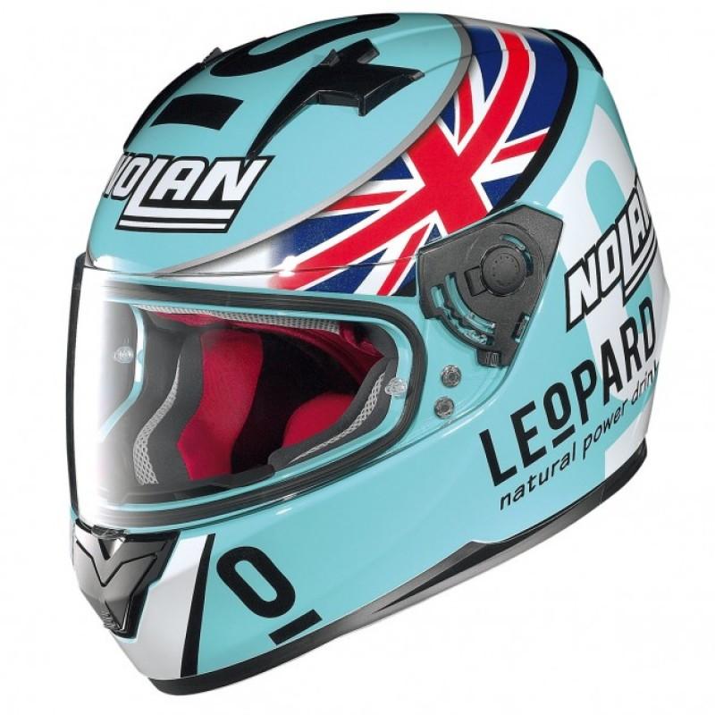 Capacete Nolan N64 Gemini Réplica - D. KENT - Aquamarine  - Super Bike - Loja Oficial Alpinestars