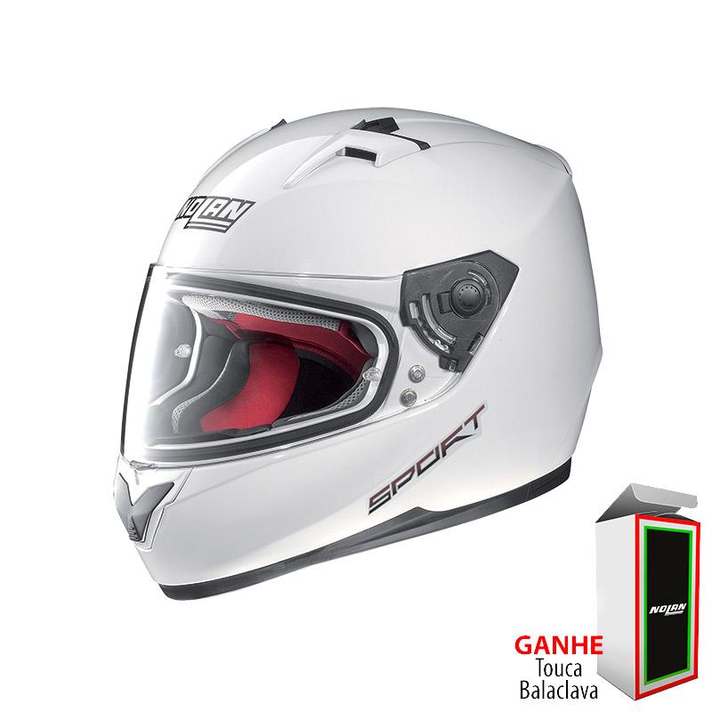 Capacete Nolan N64 Pure White Oferta!!  - Super Bike - Loja Oficial Alpinestars