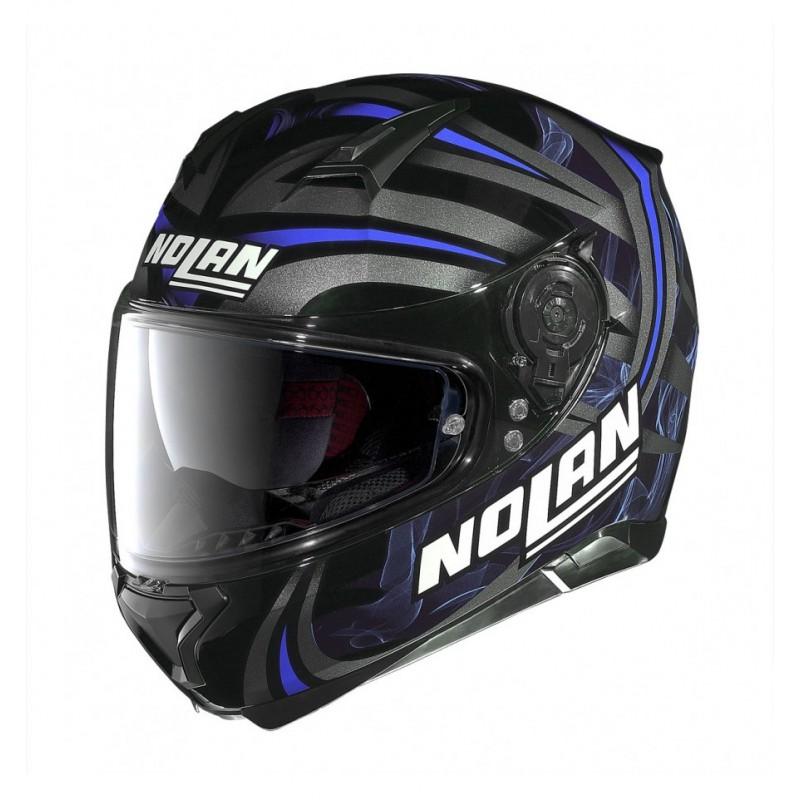 Capacete Nolan N87 Led Light N-Com Glossy Black Lançamento no Brasil!!  - Super Bike - Loja Oficial Alpinestars