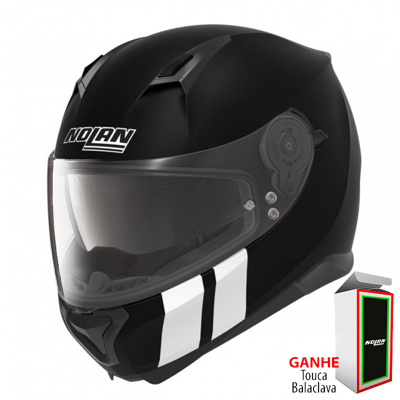 Capacete Nolan N87 Martz N-COM Flat Black Lançamento no Brasil!!  - Super Bike - Loja Oficial Alpinestars