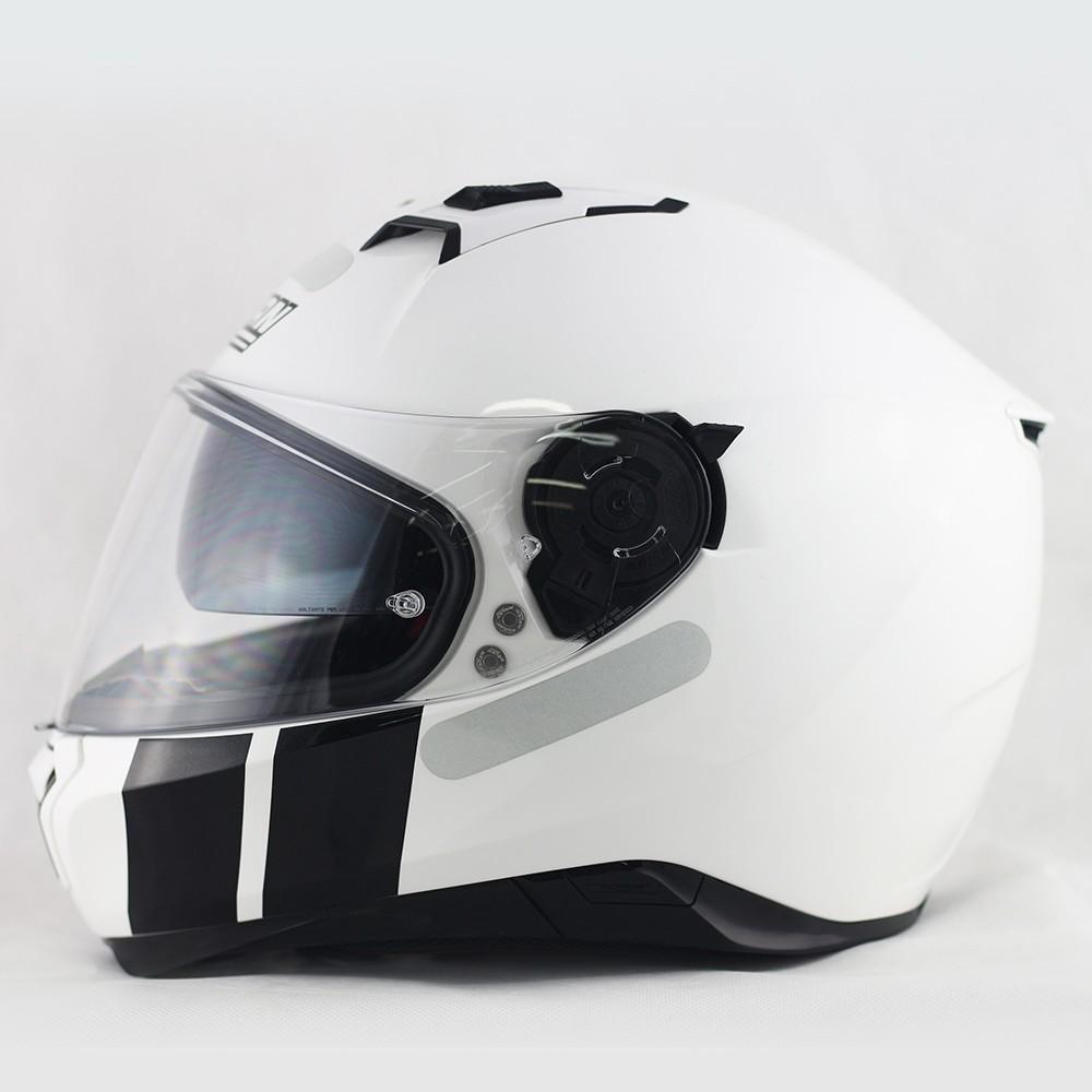 Capacete Nolan N87 Martz Metal White Com Viseira Solar e Pinlock  - Super Bike - Loja Oficial Alpinestars