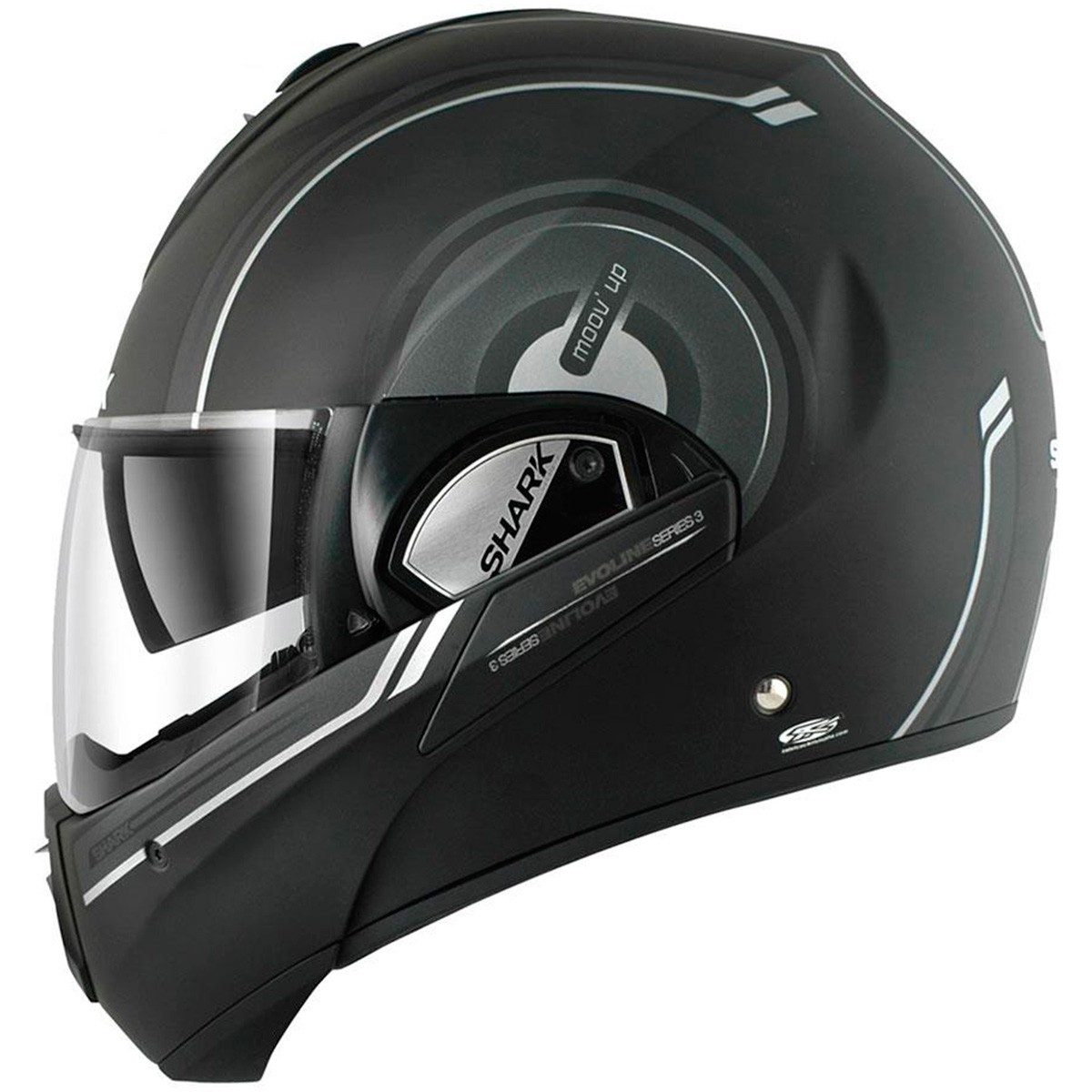 Capacete Shark Evoline Serie 3 Moov Up Matt KAW  - Super Bike - Loja Oficial Alpinestars