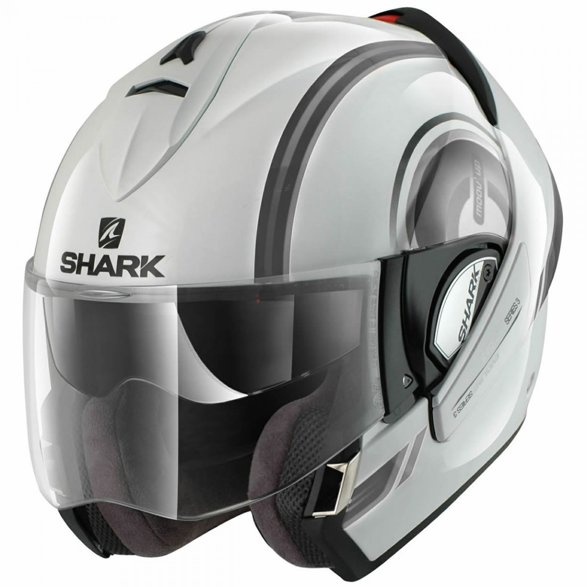 Capacete Shark Evoline Serie 3 Moov Up WKS  - Super Bike - Loja Oficial Alpinestars
