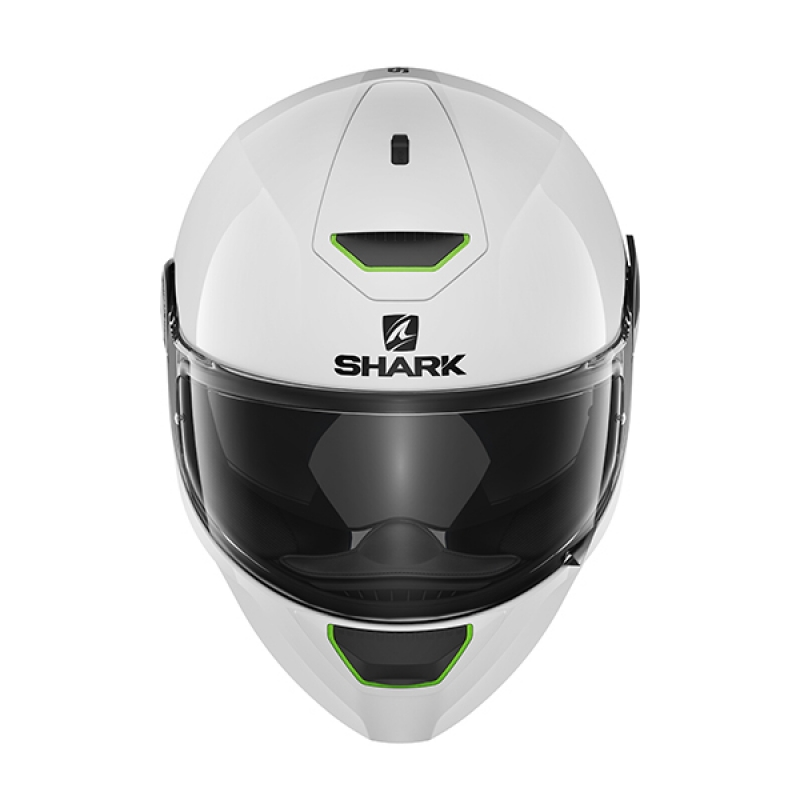 Capacete Shark Skwal Blank WHU Branco  - Super Bike - Loja Oficial Alpinestars