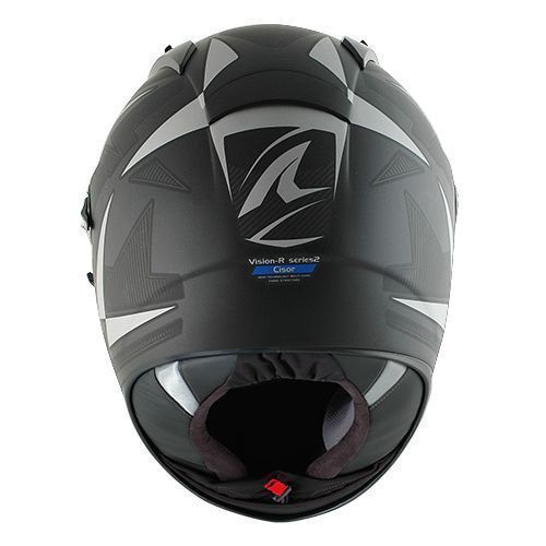 Capacete Shark Vision-R2 Cisor Matt KAB  - Super Bike - Loja Oficial Alpinestars