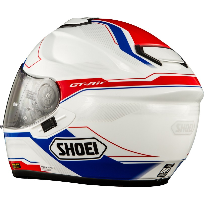 Capacete Shoei Gt Air Journey TC-2 White Red Blue  - Super Bike - Loja Oficial Alpinestars