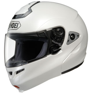 Capacete Shoei Multitec Branco (Escamoteável)  - Super Bike - Loja Oficial Alpinestars