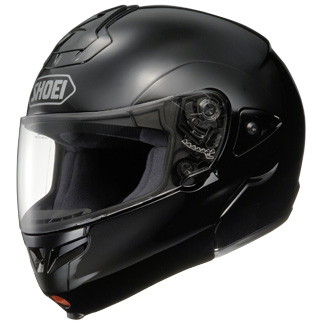 Capacete Shoei Multitec Preto Brilhante (Escamote�vel)  - Super Bike - Loja Oficial Alpinestars