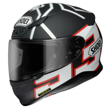 Capacete Shoei NXR Marc Marquez Replica Black  - Super Bike - Loja Oficial Alpinestars