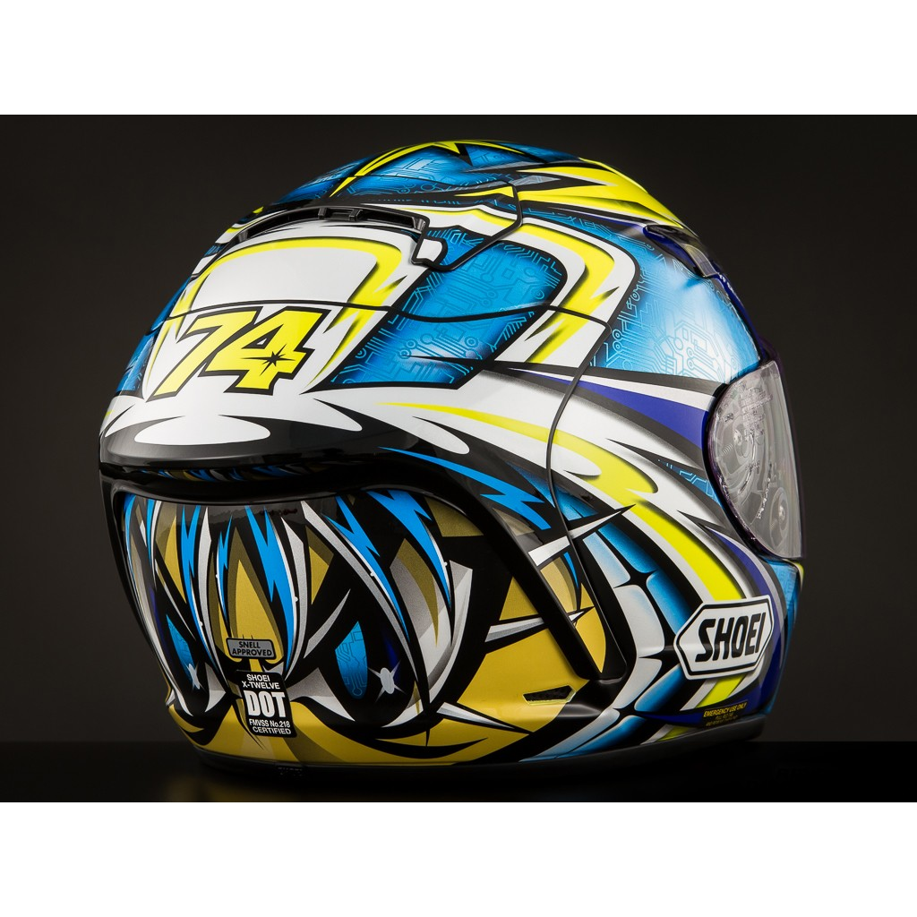 Capacete Shoei X-Spirit II Daijiro Kato TC-3 - X-twelve - Super Bike - Loja Oficial Alpinestars