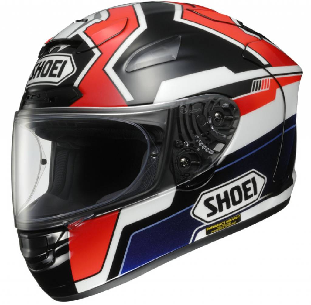 Capacete Shoei X-Spirit II Marquez 2 TC-1 Replica - X-Twelve   - Super Bike - Loja Oficial Alpinestars