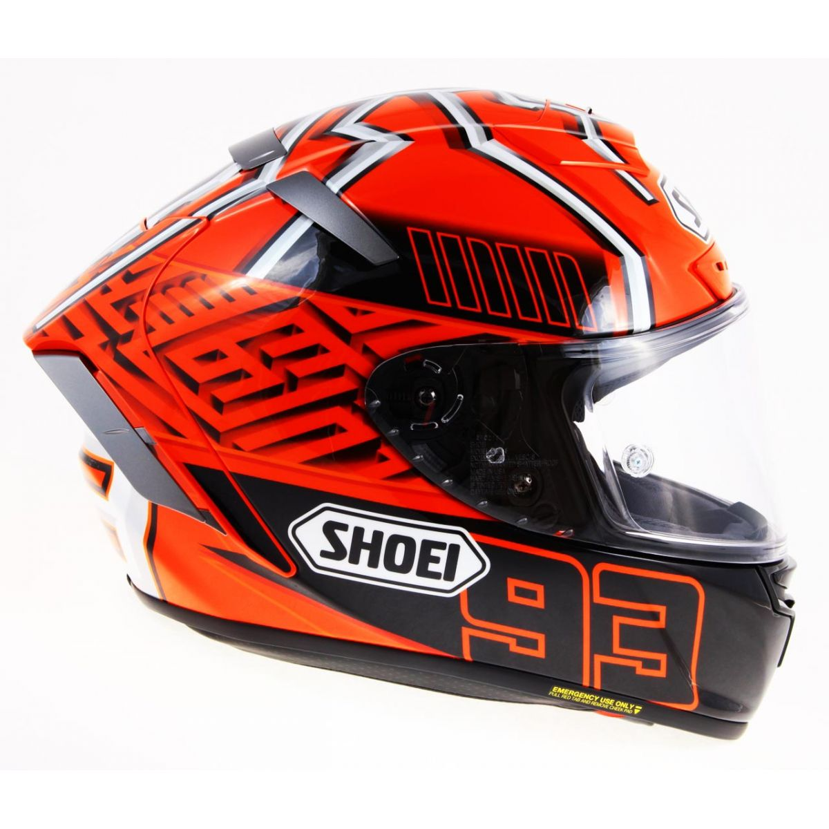 capacete shoei x spirit iii marc marquez replica x fourteen superbike shop alpinestars. Black Bedroom Furniture Sets. Home Design Ideas