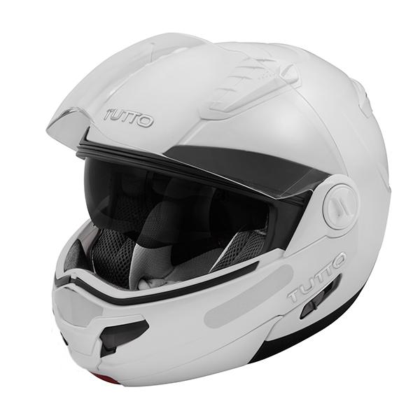 Capacete Tutto Moto Open Flex Branco  - Super Bike - Loja Oficial Alpinestars