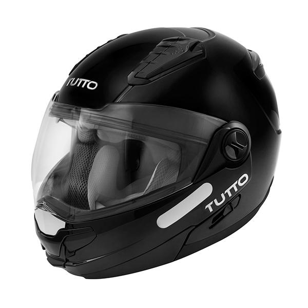 Capacete Tutto Moto Open Flex Preto Brilho  - Super Bike - Loja Oficial Alpinestars