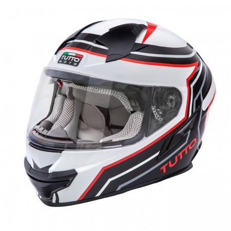 Capacete Tutto Moto Racing Black (Com Óculos Solar)  - Super Bike - Loja Oficial Alpinestars