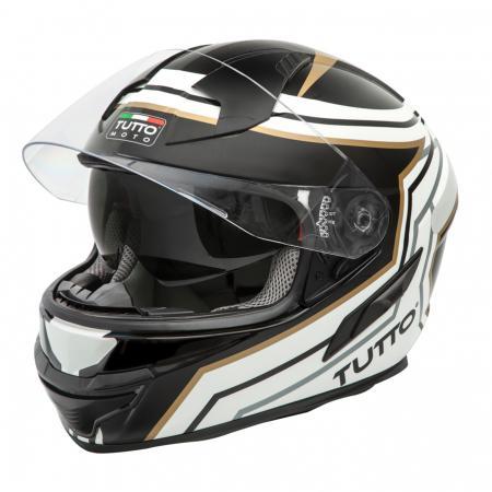 Capacete Tutto Moto Racing Gold (Com Óculos Solar )  - Super Bike - Loja Oficial Alpinestars