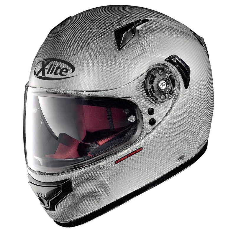 Capacete X-LITE X-661 Extreme Titan-Tech Puro N-Com - Flat Titanium  - Super Bike - Loja Oficial Alpinestars