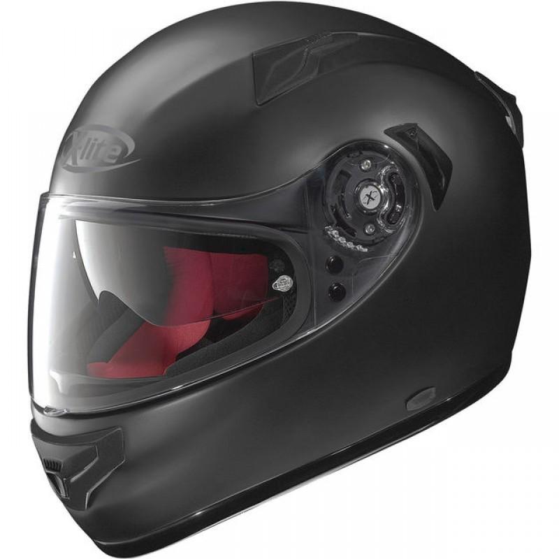Capacete X-Lite X-661 Flat Black (Tri-Composto + Viseira Interna)  - Super Bike - Loja Oficial Alpinestars
