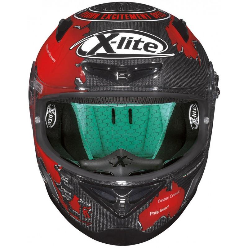 Capacete X-Lite X-802RR C.CHECA - CARBON Lançamento!!  - Super Bike - Loja Oficial Alpinestars