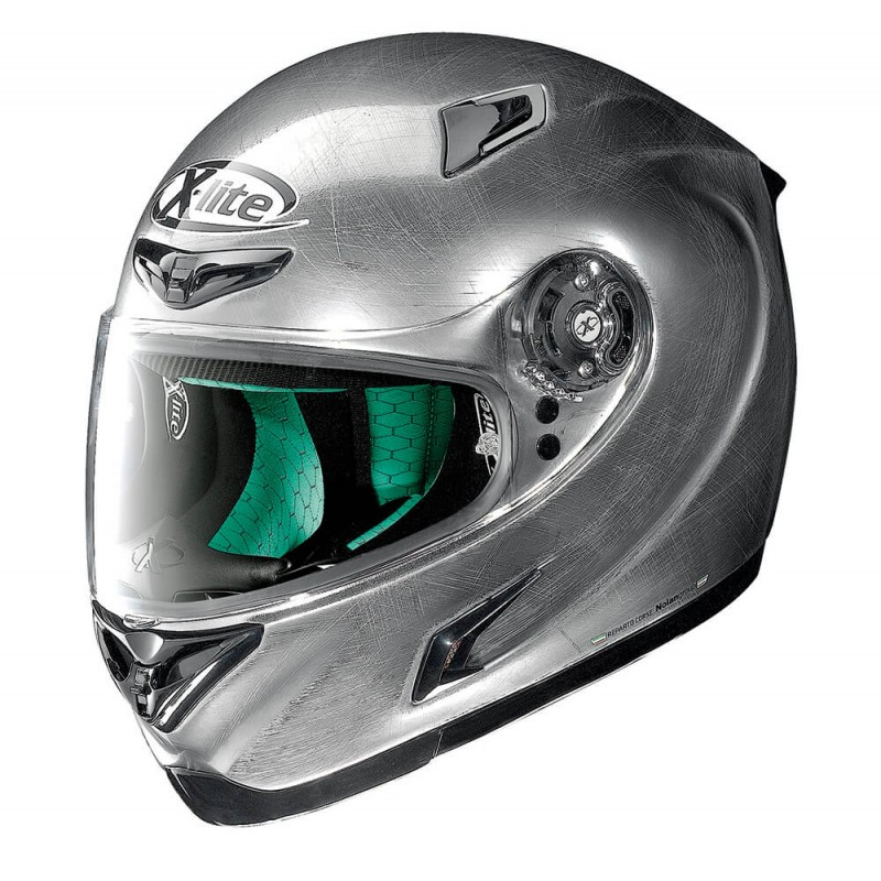 Capacete X-Lite X-802RR Start Scratched Chrome Lan�amento!! - Super Bike - Loja Oficial Alpinestars
